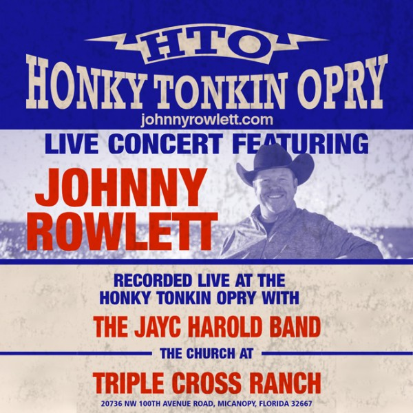 LIVE Album | One-Time Purchase - Johnny Rowlett