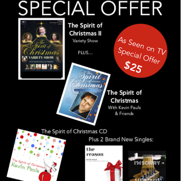 The Spirit Of Christmas COMPLETE PACKAGE - Kevin Pauls